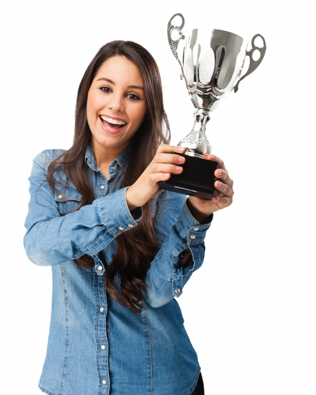 proud-woman-with-her-award_1154-291